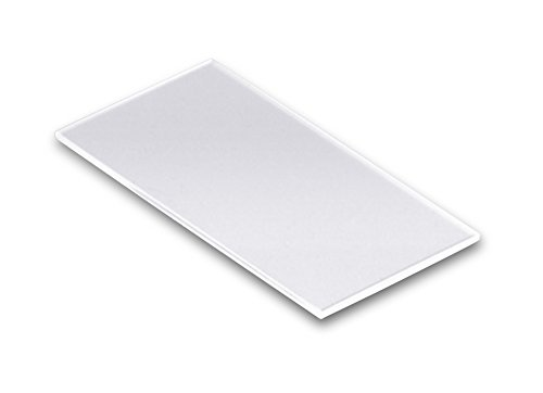 """Technical Glass Products- Fused Quartz Microscope Slides - 2"""" Length X 1"""" Width X 1Mm Thickness"""