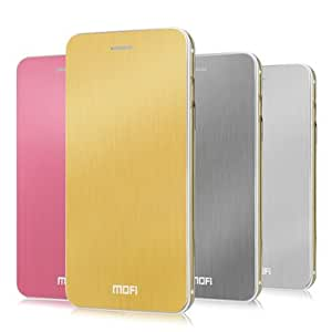 GENERIC Mofi Metal Series Leather Phone Case For iPhone 6 Plus 5.5Inch