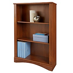 Realspace(R) Dawson 3-Shelf Bookcase, 44In.H