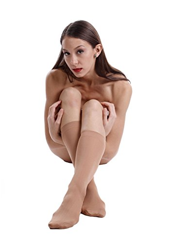 Women's Nylon Knee High Stockings
