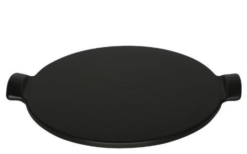 Emile Henry 12-Inch Pizza Stone, Noir