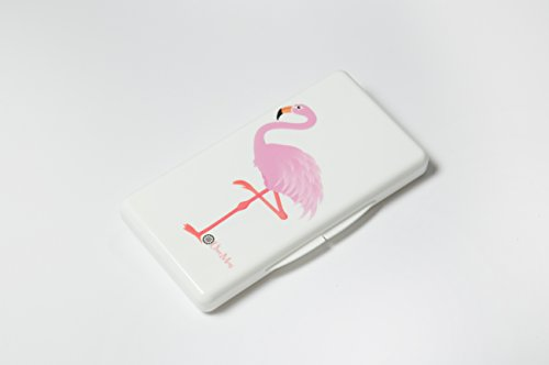 Uber Mom Flamingo Wipe Box, White