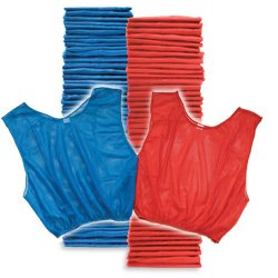 Adult Scrimmage Vest 50 Pack Blue Red (PAC) by SSG