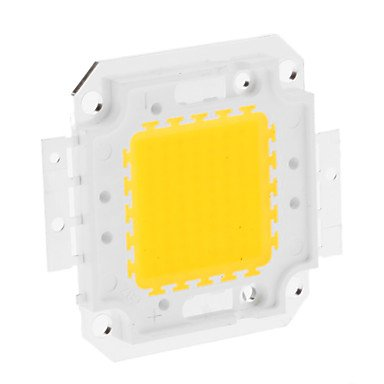 Rayshop - Diy 50W 3950-4000Lm 1500Ma 3000-3500K Warm White Light Integrated Led Module (30-36V)