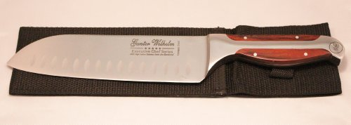 "Gunter Wilhelm Executive Chef Series Model 215 7"" Santoku"