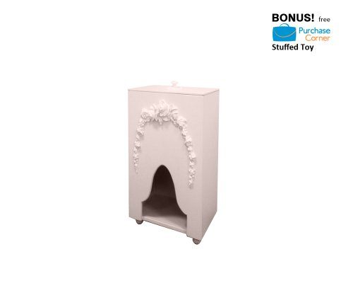 Bella Diaper Caddy (Tabletop, Floor Model) With Free Purchase Corner Stuffed Toy front-1025621