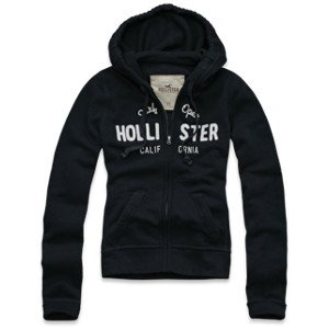 hollister hoodie groesse s 36 navy kapuzenjacke. Black Bedroom Furniture Sets. Home Design Ideas