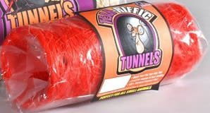 Prevue Pet Products Small Animal Tear – riffic Tunnels 2.5 in x 6 in