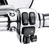 H-D Chrome Switch Housing Kit Touring Models 71813-09