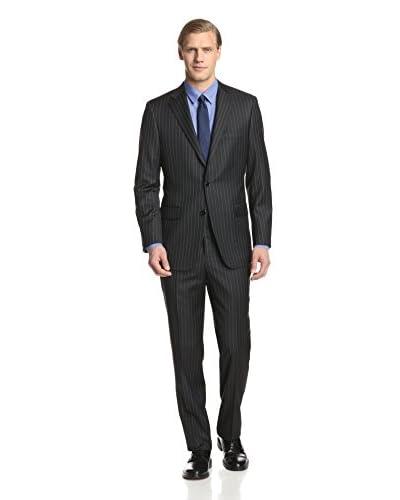 Hickey Freeman Men's Stripe Suit