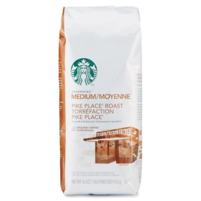 Starbucks Pike Place Roast Coffee front-605745