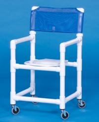 IPU VL SC19 Standard Slant Seat Shower Chair 19 Inch Clearance