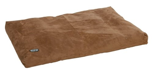 Buster Memory Foam Dog Bed, 120 x 100 cm, Camel