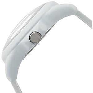 [シチズン キューアンドキュー]CITIZEN Q&Q 腕時計 ドームウォッチ アナログ表示 二層文字板 10気圧防水 ホワイト VR46-018 メンズ