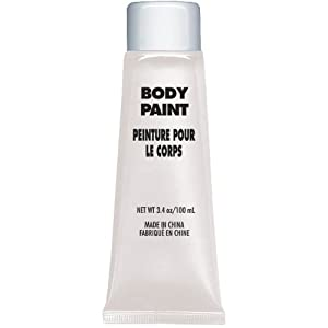 White Body Paint - Net WT. 3.4 oz