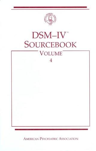 DSM IV Sourcebook: v. 4