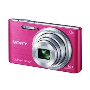 SONY デジタルカメラ Cyber-shot W730 1610万画素 光学8倍 ピンク DSC-W730-P