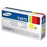 New, Samsung Laser Toner Cartridge Page Life 1000pp Yellow [For CLP-320/CLP-325/CLX-3185] Ref CLT-Y4072S/ELS