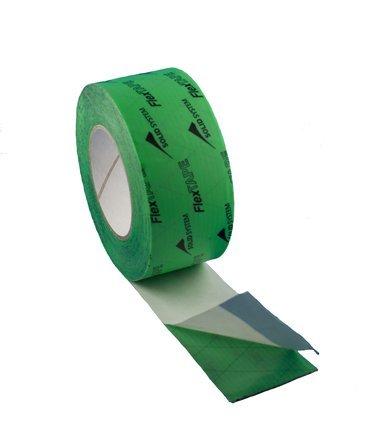 flex-isolamento-tape-nastro-adesivo-verde-per-freni-a-vapore-barriera-anti-umidita-lunghezza-rotolo-