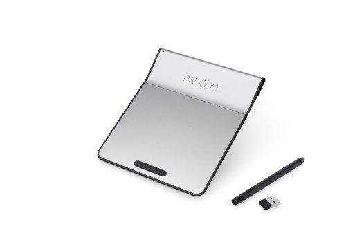 wacom ペン付きタッチパッド ワイヤレス Bamboo Pad ブラック CTH300K