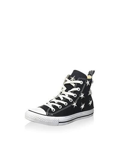 Converse Hightop Sneaker All Star Hi schwarz/silber