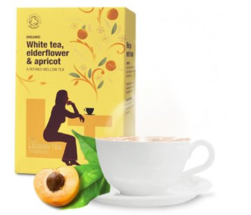 Organic White Tea - Elderflower & Apricot (20 sachets).
