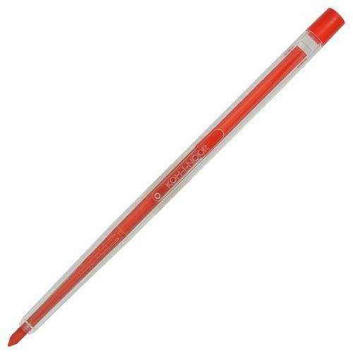 Koh-i-noor lot de 12 crayons de couleur couleurs assortis séparation plastique avec mines de ø 3,2 mm