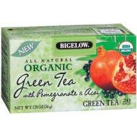 Bigelow Organic Green W/ Pomegranate & Acai Tea Bags, 20 Ct
