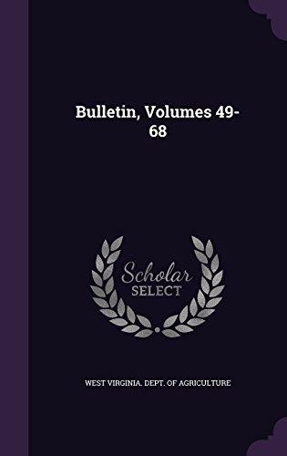 Bulletin, Volumes 49-68