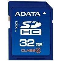 ADATA ASDH32GCL4-R 32GB Class 4 SDHC Memory Card