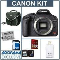 Canon EOS Digital Rebel T1i SLR Camera Body KIT, U.S.A. Warranty - Black Finish - with 8GB SD Memory Card, Spare LP-E5 Lithium-Ion Battery, Slinger Camera Bag,USB 2.0 SD Card Reader, Lens Cleaning Kit - FREE: Red Giant Magic Bullet PhotoLooks V1.5 Software,for Mac & Windows a $199.00 Retail Value