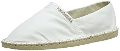 Havaianas Origine,  Espadrilles mixte adulte - Blanc (0001 White), 33 BR (35 EU)