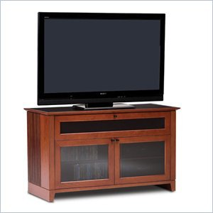 Cheap BDI Novia Double-wide cabinet TV Stand in Natural Stained Cherry (8426CH)