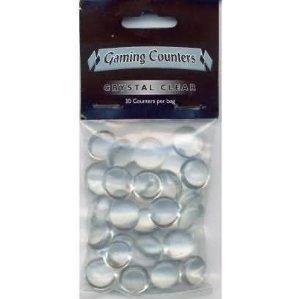Arcane Tinmen 20201 - Gaming Counter Clear, 30 Stück