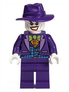 LEGO DC Comics Super Heroes Batman Minifigure - Joker with Wide-brim Hat (76013) - 1