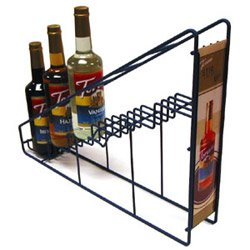 Pronto Products 6-Bottle Toriani Wire Rack (03-0664) Category: Drink Syrups Reviews