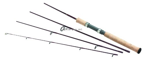 Daiwa Wildnerness Medium Action Spin Pack Rod,(6 1/2-Feet)