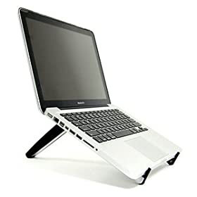 Buy Cosmos Black HARD adjustable Portable Multiple angle Stand for laptop notebook computer Apple HP DELL Acer Toshiba... by Cosmos