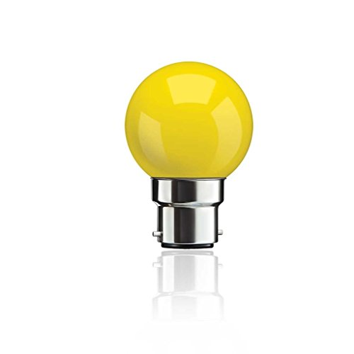 0.5 W B22 LED Bulb (Yellow)