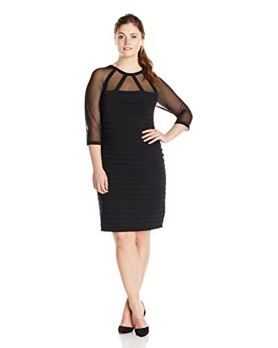 Adrianna Papell Plus Women's Banded Dress