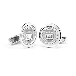 Boston College Sterling Silver Cufflinks by M.LaHart & Co.