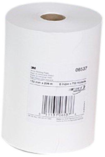 """3M 06537 White 6"""" x 750' Masking Paper"""