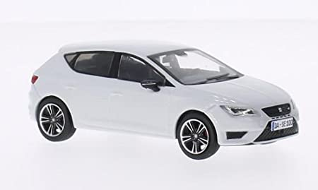 seat leon cupra 280 blanche 2014 voiture miniature miniature. Black Bedroom Furniture Sets. Home Design Ideas