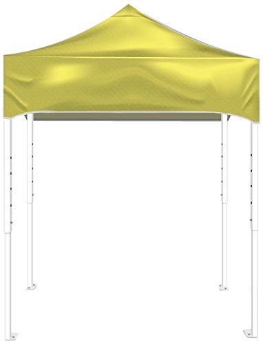 Kd Kanopy Ps64Y Party Shade Steel Frame Indoor/Outdoor Portable Canopy, 8 By 8-Feet, Yellow