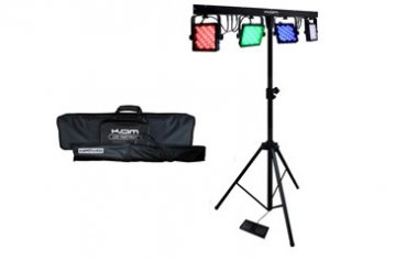 KAM LED Partybar Portable LED disco/party lighting system