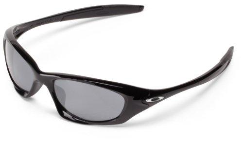 2a30aec498 Oakley Mens Twenty OO9157-01 Iridium Oval Sunglasses