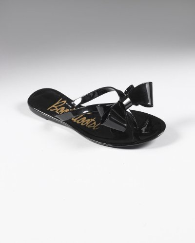 Flat Thong Sandal With Oversized Bow by Shape fx