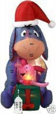 Airblown Inflatable 7 Ft Tall Eeyore front-927482