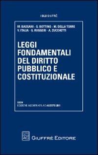 Leggi fondamentali del diritto pubblico e costituzionale (I blu Giuffrè)
