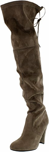 Steve Madden Women's Gorgeous Winter Boot, Taupe, 8 M US